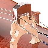 BEESCLOVER Schalldämpfer für Cello mit 2 Zinken, Metall