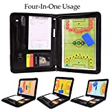ckground 4 in 1 Magnetische Multifunktions Coaching Strategie Bord Fußball Coach Board Kit Faltbare...