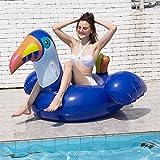 YAUUYA Wasser Hängematte Swimmingpool Beach Floating Recliner Aufblasbares Floating Bed Lounge...