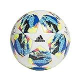 adidas Jungen Finale TTRN Turnierbälle für Fußball, top:White/Bright Cyan/solar Yellow/Shock pink...
