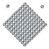Lichtleiste Zubehr 100PCS SK6812 WS2812B RGBW RGBWW einzeln adressierbaren LED-Chip-Brett for...