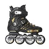 ZPLHX Inline-Skates komfortable Schlittschuhe mit Verschleißfesten Rädern ideal for Anfänger...