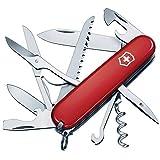 Victorinox Taschenmesser Huntsman (15 Funktionen, Schere, Holzsge, Schraubendreher) rot
