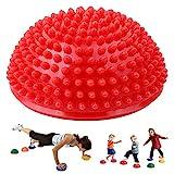 MeiLiu Fitness Balance Ball Yoga Durian Ball Massagematte Massage Trigger Point Halbball...
