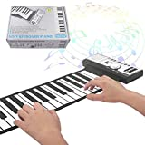 Liuxiaomiao Roll Up Piano Digitales, einfach zu spielendes Keyboard Piano Faltbares, Flexibles,...