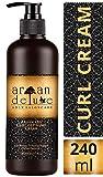 Argan Deluxe Curl Defining Cream in Friseur-Qualität 240 ml - Lockenpflege-Creme mit Arganöl für...