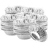 jky 250/300 Stck Ei Tart Dosen Form Pfannen Muffin Mini Quicheform Einweg Aluminiumfolie Tassen...