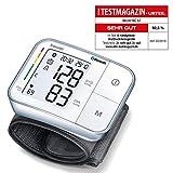Beurer BC 57 Handgelenk-Blutdruckmessgerät, Medizinprodukt mit App-Anbindung via Bluetooth,...