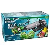 JBL ProCristal UV-C Compact Plus Wasseraufbereitung für Aquarien, 11 W