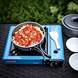 Kuizhiren1 Töpfe und Pfannen Camping Kochgeschirr Kit,Tragbar Outdoor Camping Wandern Picknick...
