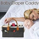 AIMERKUP Baby-Windeltasche mit Fach für Neugeborene Dusche Geschenkkorb mit Trennwand Kindness