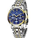 Wishdoit Herren-Armbanduhr, elegant, Silikonarmband, wasserdicht, Militär-Chronograph, Business,...