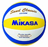 Mikasa Beachvolleyball Sand Classic Vsv300m, blau/gelb/wei, 1618