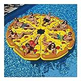 Pizza-Schwimmende Platoon-Halterung, Schwimmring für Erwachsene, schwimmende Liege, aufblasbare...
