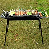 JEHO Tragbare Neue im Freien Barbecue Unabhängige Carbon-Cao Barbecue Große Thick...