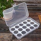 wudianzi Eierbox Kühlschrank Aufbewahrungsbox Küche Lebensmittel Konservierungsbox Eierregal,...