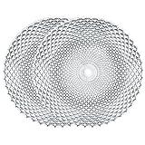 Spiegelau & Nachtmann, 2-teiliges Platzteller-Set, rund, Kristallglas, 32 cm, Rumba, 0089995-0