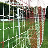 Donet Jugend - Fuballtornetz 5,15 x 2,05 m Tiefe oben 1,00/unten 1,00 m, zweifarbig, PP 4 mm ,...