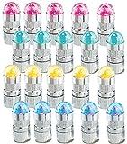 infactory Ballonlichter: Bunte LED-Ballon-Blinker im 20er-Sparpack inkl. Luftballons (Leuchtende...