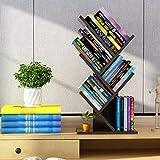Baum Desktop Bücherregal Aufbewahrung Gestell,stehen Buch Veranstalter Regal Einfach Öffnen Studie...