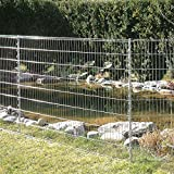 bellissa Teichschutz-Zaun Set - 92883 - Funktionaler Zaun für Abgrenzungen im Garten oder als...