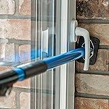ALLEGRA Sicherungsstange für die Fenstersicherung und Türsicherung, Einbruchschutz für Fenster...