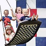 Große Mehrkindschaukel STANDARD weiß/rot/blau für 4 Kinder, 136 x 66 cm (SPR.L.109) - das...