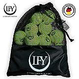 LUMINARY FOR YOU Tennisblle 15 Stck inklusive Mesh-Tragetasche Tennisblle perfekt fr das Training,...