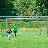 DONET Jugend - Fußballtornetz 5,15 x 2,05 m Tiefe Oben 1,00 / unten 1,00 m, PP 3 mm ø, knotenlos,...