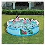 Happy People 18534 - Quick Up Pool Disney Nemo, 244 x 66 cm