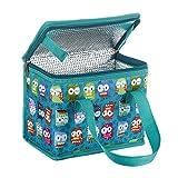 TEAMOOK Kleine Kühltasche Lunch Tasche Isoliertasche zur Arbeit und Schule gehen 4 Liter, 22 x 17 x...