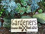 SIGNS Lustige Schilder für den Garten, lustiges Geschenk für Gärtner und Gärtner
