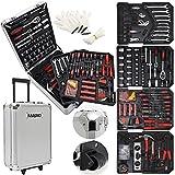Masko 969 tlg Werkzeugkoffer Werkzeugkasten Werkzeugkiste Werkzeug Trolley Profi 969 Teile...