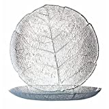 Luminarc ARC 10274 Aspen Teller flach, 19,1 cm, Glas, transparent, 6 Stück