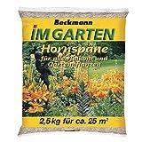 Beckmann im Garten 10520 Beckmann Hornspäne 14, 2,5 kg, Schwarz, Grau