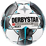 Derbystar Erwachsene Bundesliga Brillant APS Fußball, Weiss Schwarz Petrol, 5