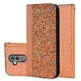 Handyzubehör Flip-Top-Telefonkasten Hsagwrh Krokodil Textur Glitter Puder Horizontal Flip...