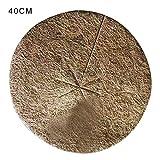 rethyrel Gartenpflanze Kokosnuss Mulch Abdeckung 10 STÜCKE Natrual Blumentopf Kokosmatten...