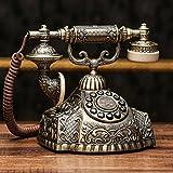 Wvfguj Kreative All - Metallsitzmaschine Antike europäische - Style Retro Garten Telefon Home...