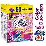 Weier Riese Color Duo-Caps, Colorwaschmittel, 80 Waschladungen, Aromatherapie Malaysische Orchidee &...