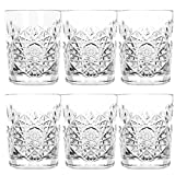Libbey - Hobstar - Whiskyglas, Wasserglas, Saftglas - 6er Set - Kristallglas - 350 ml