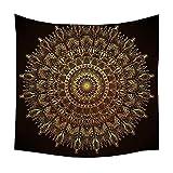 MARY.YAN Wandteppich Mandala Wall Hanging Wanddekoration Hippie Tapestry Wanddeko Für Wohnzimmer...