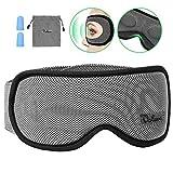 Schlafmaske Damen und Herren, Voluex NULL-Druck 3D konturierte Schlafbrille Nachtmaske,100%...