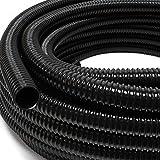 Wiltec 25m Frderschlauch 25mm (1') sehr flexibel - schwarz - Made in Europe