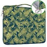 HSEOK 15,6 Zoll Aktentasche Laptop Handtasche Hülle Tasche, Jacquard Sleeve für die meisten...