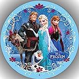 Fondant Tortenaufleger Tortenbild Geburtstag Frozen Die Eiskönigin T41