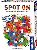 KOSMOS 695187 Spot On - Deutschland - Wo liegt eigentlich was? Rasantes  Geografie-Spiel um...