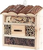 Royal Gardineer Bienenhotel: Insektenhotel Marie, Nisthilfe fr Ntzlinge, 20 x 20 x 7 cm (Nistkasten)