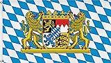 normani Fahne mit Messingsen 90 x 150, 150 x 250 oder 300 x 500 cm whlbar Farbe Bayern Gre 150 x 250