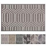 Fußmatte für den Innen- und Außenbereich, Polypropylen-Faser, Fußmatte, rutschfeste Unterseite...